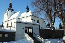 """Kostel """"Zvěstování Páně"""" v Ličně"""