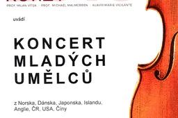Koncert mladých umělců