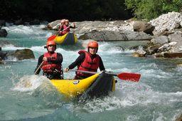 Sjíždění řeky Bobr