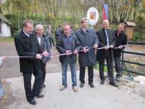 Slavnostní otevření mostu Bartošovice - Niemojów