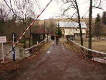 Hraniční most Bartošovice - Niemojów před rekonstrukcí