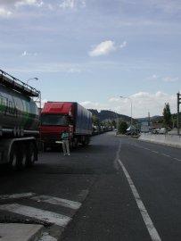 Fronty na hraničním přechodu Náchod - Kudowa
