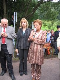Slavnostní otevření hraničního přechodu Olešnice - Lewin 1