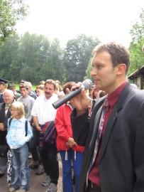 Slavnostní otevření hraničního přechodu Olešnice - Lewin