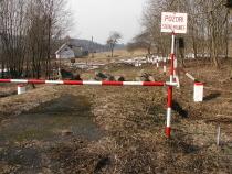 Hraniční přechod Olešnice- Lewin před rekonstrukcí