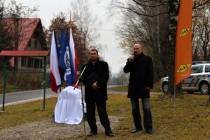 Projevy - místopředseda EG Miroslav Vlasák spolu se sekretářem