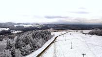 Nový Hrádek 2 - zimní výhled