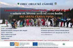 Loučení se zimou na Černé vodě